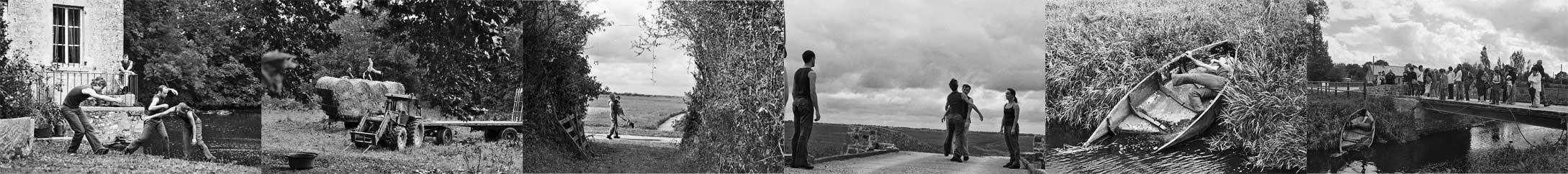 eAU #01 - marais de Carentan, création 2006 - cliquer pour accéder à l'album couleur !