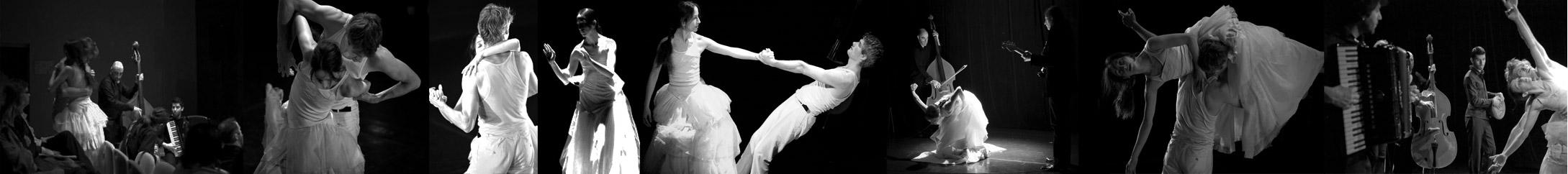 Mariage ? ou Le ciel s'est dérobé sous mes pieds… création 2009 - cliquer pour accéder à l'album couleur de la représentation en théâtre !