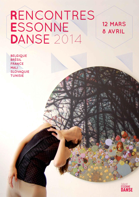 Rencontre Essonne Danse 2014 - flyer recto