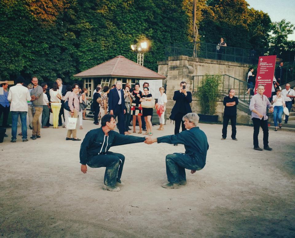 Accueil chorégraphique, Jardins, Jardin le 04/06/2015 au Jardin des Tuileries
